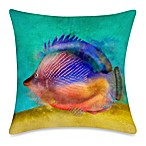 19-Inch Outdoor Toss Pillow in Fish 2