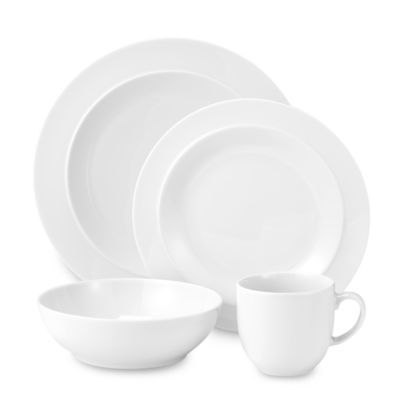 White 4-Piece Place Setting by Denby