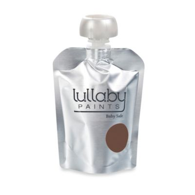Lullaby Paints Baby-Safe Nursery Wall Paint Sample in Leather Strap Eggshell Finish