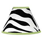 Sweet Jojo Designs Funky Zebra Lamp Shade in Lime