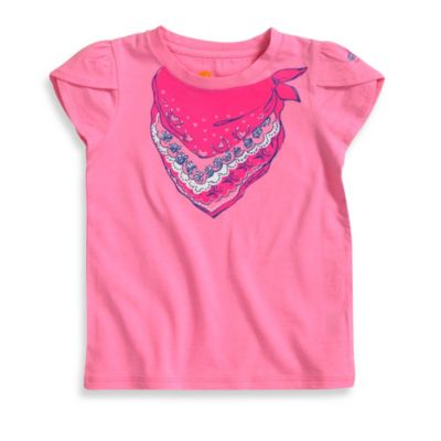 Carhartt Toddler Short-Sleeve T-Shirt in Pink Bandana Print