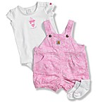 Carhartt 3-Piece Shortall Set in Rose Bloom