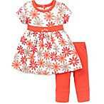 Offspring Daisy Dress and Legging Set