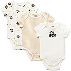 Little Me Monkey Bodysuit (Set of 3)