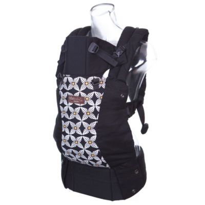 lillebaby® Complete™ Designer Baby Carrier in Black with Yellow Petals