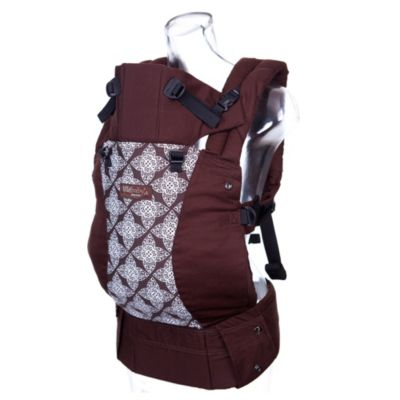 lillebaby® Complete™ Designer Organic Cotton Baby Carrier in Toffee with Lace