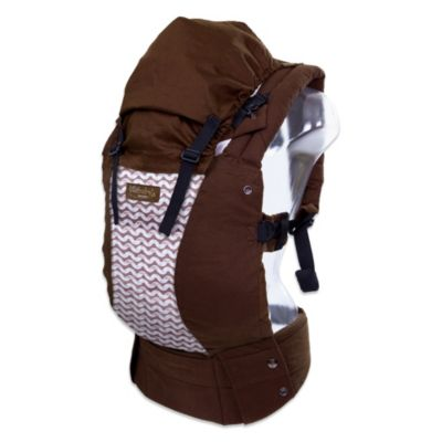 lillebaby® Complete™ Designer Organic Cotton Baby Carrier in Toffee with Waves