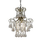 AF Lighting Tiffany Mini Chandelier