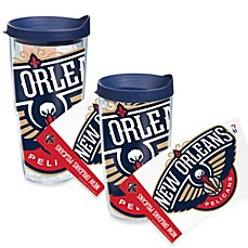 Tervis® New Orleans Pelicans Wrap Tumbler with Blue Lid