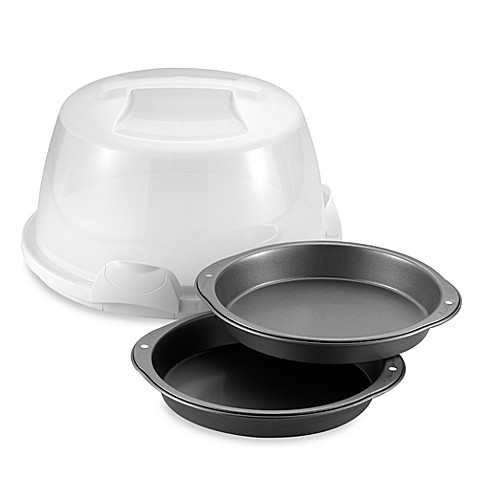 Wilton® Cake Caddy and Pan Set
