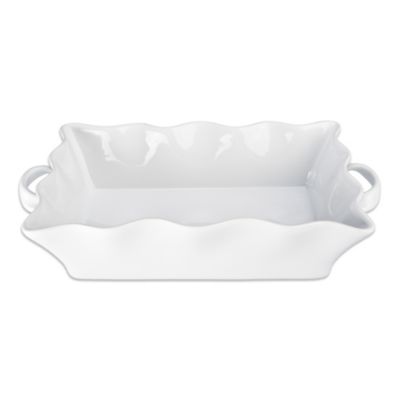 BIA Cordon Bleu 3-Quart Rectangular Baker with Handles in White