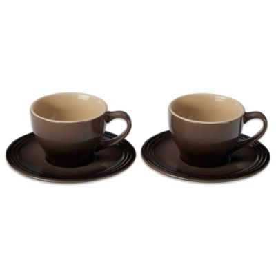 Chip Resistant Cups and Saucers
