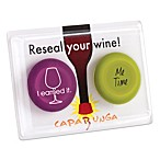 Capabunga Reseal Your Wine! 2-Pack Reusable Wine Cap