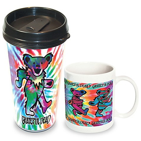Buy Grateful Dead Bear Travel Amp Ceramic Mug 2 Pack From