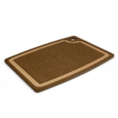 Epicurean Cutting Board with Juice Groove in Beige