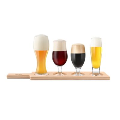 Final Touch 6-Piece Beer Tasting Set
