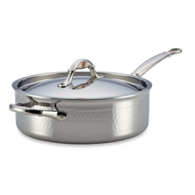 Ruffoni Symphonia Prima 5-Quart Stainless Steel Covered Sauté Pan