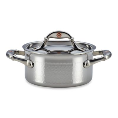 Ruffoni Symphonia Prima 1.5-Quart Stainless Steel Covered Casserole
