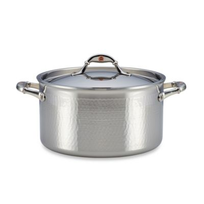 Stainless Steel Covered Stock Pots