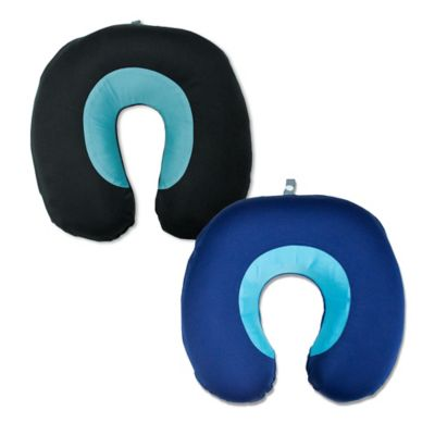 Airia Luxury® Neck Travel Pillow in Navy