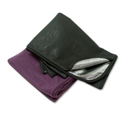 Airia Living Warming Travel Blanket in Purple