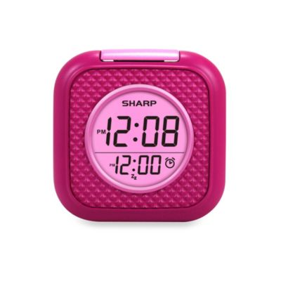 Sharp Vibrating Pillow Alarm in Pink