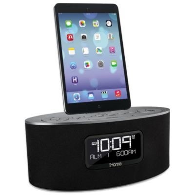 Alarm Clock with Dual Dock