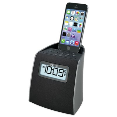 iHome® Lightning Clock Radio for iPhone/iPod®