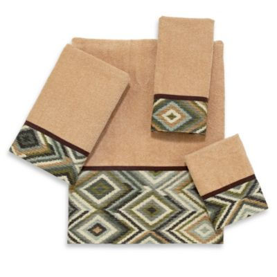 Avanti Longwood Washcloth in Rattan