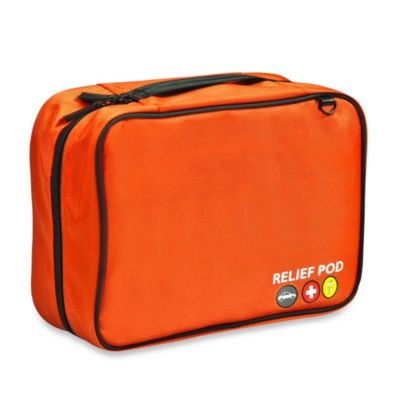 Relief Pod International 60-Piece Roadside Safety Kit Pro in Orange