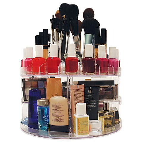 Glam Caddy™ Rotating Cosmetic Organizer