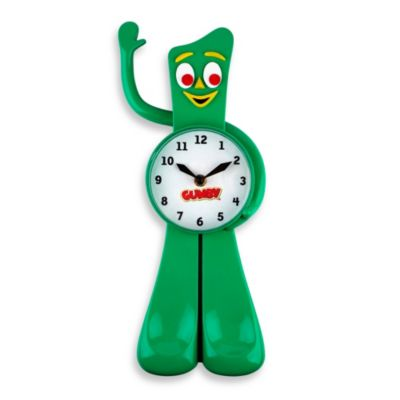Gumby 3-D Animated Clock