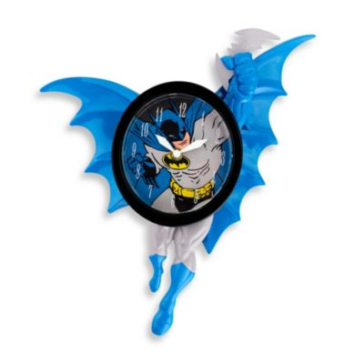 Batman 3-D Animated Wall Clock