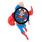 Superman 3-D Animated Wall Clock