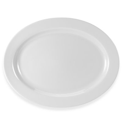 Everyday White® Rim 15 3/4-Inch Oval Platter