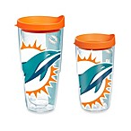 Tervis® Miami Dolphins Wrap Tumbler with Orange Lid