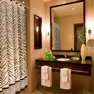 Animal Print Bathroom