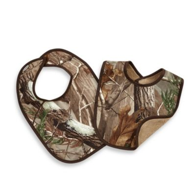 Camouflage Baby Bibs