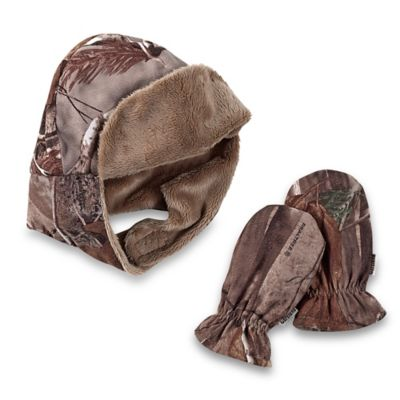 Realtree AP™ Camo 2-Piece Hat and Mitten Set