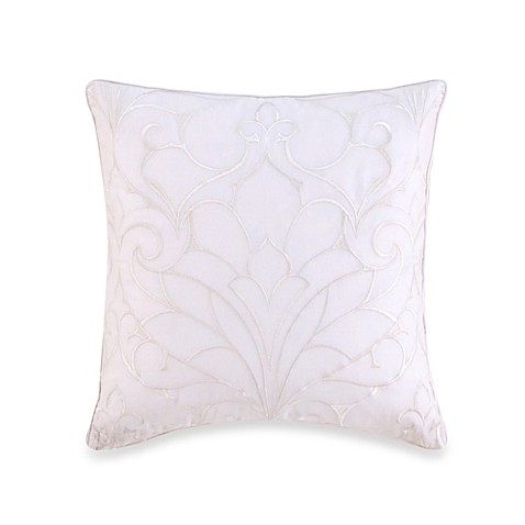 Buy Charisma Samara Embroidered Square Throw Pillow From