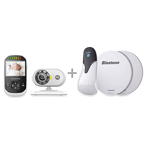 motorola mbp25s digital video baby monitor babysense motion sensor buybuy baby. Black Bedroom Furniture Sets. Home Design Ideas