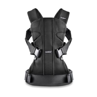 Baby Carrier One in Black Mesh
