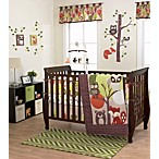 Belle Foxy & Friends 3-Piece Crib Bedding Set