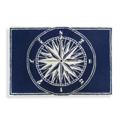 Trans-Ocean Compass Front Porch Door Mat