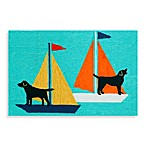 Trans-Ocean Frontporch Sailing Dogs Doormat
