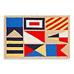Trans-Ocean Frontporch Signal Flags Doormat