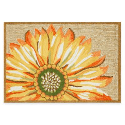 Trans-Ocean 24-Inch x 36-Inch Frontporch Sunflower Door Mat