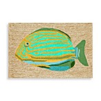 Trans-Ocean Frontporch Striped Fish Doormat