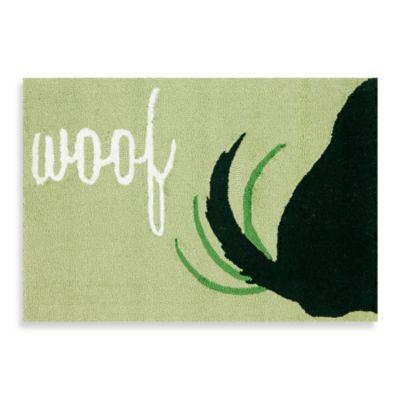 Trans-Ocean Woof 1-Foot 8-Inch x 2-Foot 6-Inch Frontporch Door Mat
