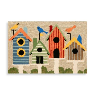 24-Inch x 36-Inch Indoor/Outdoor Birdhouses Door Mat